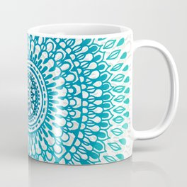 Radiate in Teal + Emerald Coffee Mug