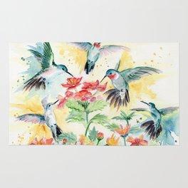 Hummingbird Party Rug