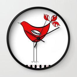 Adorable Bird Wall Clock