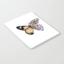 Butterfly in Bloom II Notebook