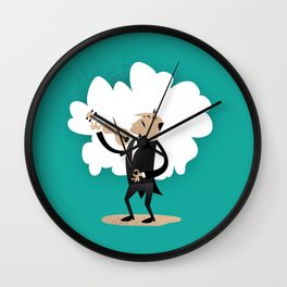 Vincent Vio Lyn Wall Clock