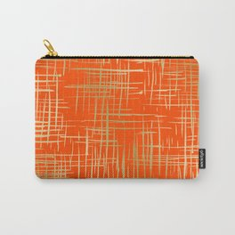 Crosshatch Fire Carry-All Pouch