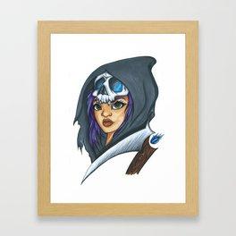 Angel from the Depths Framed Art Print
