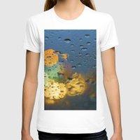 bokeh T-shirts featuring Bokeh by Blue Lightning Creative