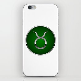 Zodiac Taurus iPhone Skin