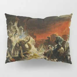 Karl Briullov - Last Day of Pompeii Pillow Sham