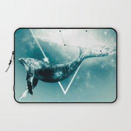 The Whale - Blu Laptop Sleeve