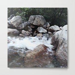 Yosemite Creek Metal Print