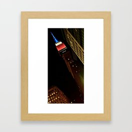 Empire State Building, NYC (1) Framed Art Print