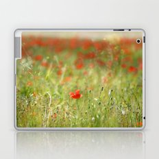 the first poppy of the field Laptop & iPad Skin