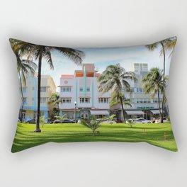 Retro Miami Rectangular Pillow