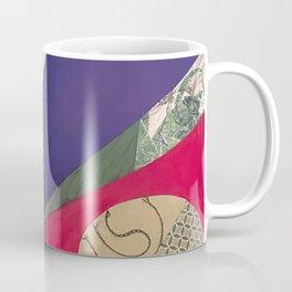 Split complementary abstract Coffee Mug