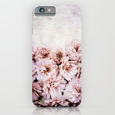 aster vintage iPhone 6s Slim Case