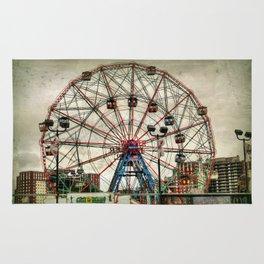 Coney Island Wonder Wheel Rug