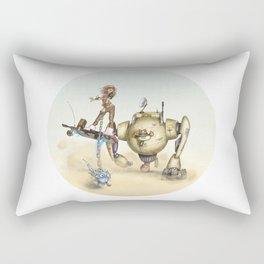 Cowbot 2000 & crew Rectangular Pillow