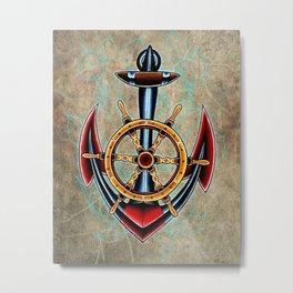 trad anchor Metal Print