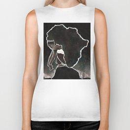Africa Thinking Biker Tank