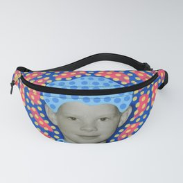 Blue Minty Friendship Fanny Pack