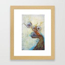 THE GARDEN OF THE HESPERIDES Framed Art Print