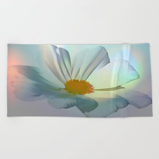 Soft Rainbow Cosmo Beach Towel