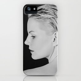 You can't be brave unless you are afraid. iPhone Case