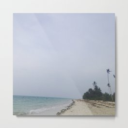 #272 A fun #Sunday at a remote #beach Metal Print