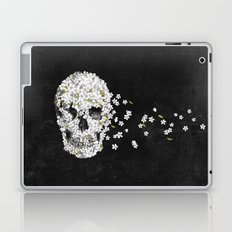 A Beautiful Death - mono Laptop & iPad Skin