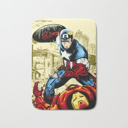 Civil War, Hail Hydra! Bath Mat
