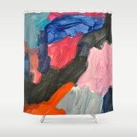 sound Shower Curtains featuring Sound by Lauren Packard