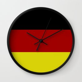 Germany flag Wall Clock