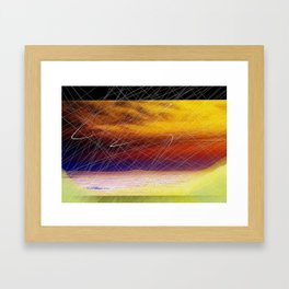 Apocalyptic May Framed Art Print