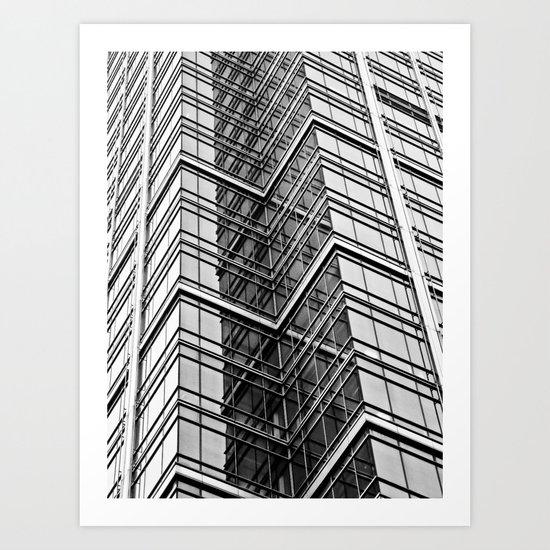 Skyscraper Abstract Art Print