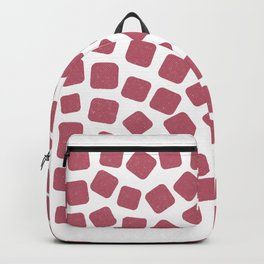 Red Gummies Pattern (Sweets) Backpack