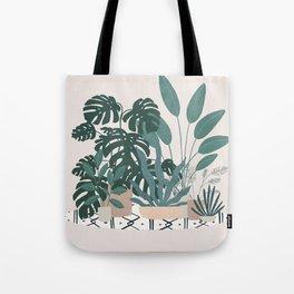 houseplant gang Tote Bag