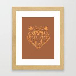 KUMA BAJE: ANATOMY BRAND Framed Art Print