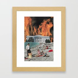 Willful Ignorance Framed Art Print