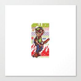 Swg Monkey Boy Canvas Print