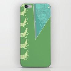 Poolside (green) iPhone & iPod Skin