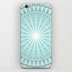 Mint Mandala iPhone & iPod Skin
