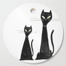 Cats Cutting Board