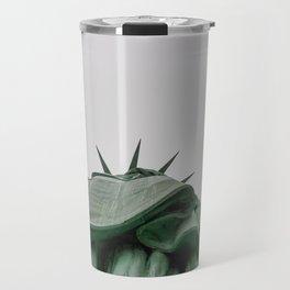 A Lady in green - NYC Travel Mug