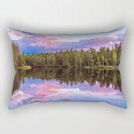 Sunset after summer rain Rectangular Pillow
