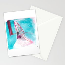 The Pink Ladies No.1 Painting Stationery Cards