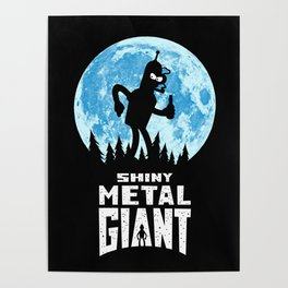 Shiny Metal Giant Poster