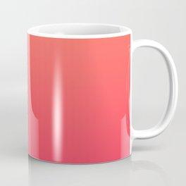 Peach Pink Gradient Coffee Mug