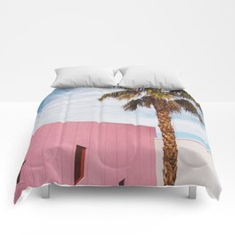 Palm Springs Vibes Comforters