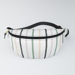 Blush tones abstract modern geometrical  pattern Fanny Pack