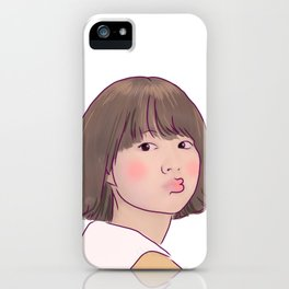 KISSY STRONG GIRL BONG SOON iPhone Case