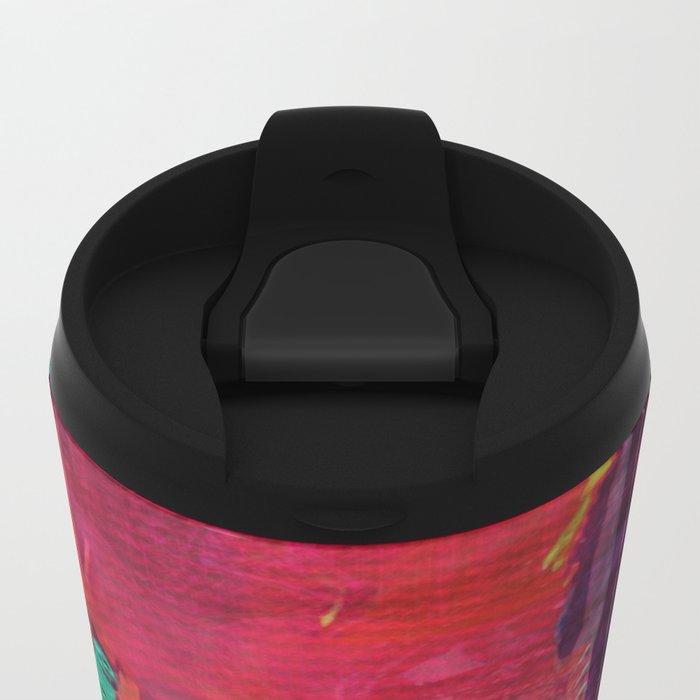 Colorblind Doorways Metal Travel Mug