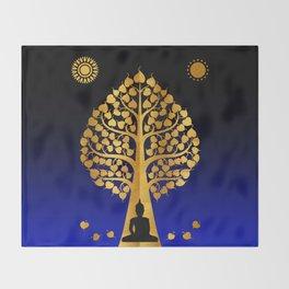 Bodhi Tree0403 Throw Blanket